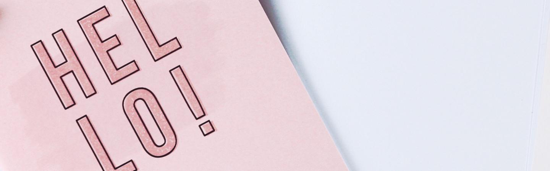 Tarjetas y Papel de carta